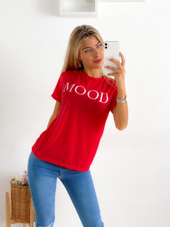Remera estampada jersey lino Mood en internet