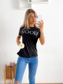 Remera estampada jersey lino Mood - BENKA
