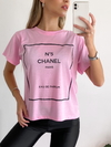 Remera estampada N°5 Channel en internet
