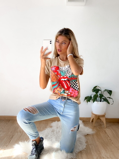 Remera estampada Rolling LV en internet
