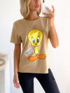 Remera estampada Tweety - comprar online