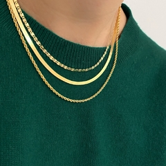 Collar Twist Oro en internet
