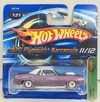 HOT WHELLS 1:64 1970 PLAYMOUTH BARRACUDA / SUPER T-HUNT   *11/12