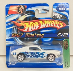 HOT WHELLS 1:64 MUSTANG 1967 ( 2006)  / SUPER T-HUNT *6/12