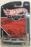 HOT WHELLS 1:64 SERIE HOT WHELLS GARAGE FORD / MERCURY 56  ( PNEUS DE BORRACHA) *10/30