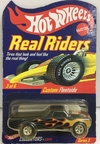 HOT WHELLS REAL RIDERS   1:64     CUSTOM FLEETSIDE 1968   #3/6  PNEUS DE BORRACHA   ANO 2003