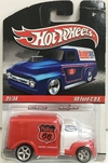 HOT WHELLS  1:64     FORD C.O.E 49 *31/34  PNEUS DE BORRACHA   ANO 2009