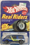 HOT WHELLS  REAL RIDERS 1:64     DREAM VAN XGW  *0919/5909  PNEUS DE BORRACHA   ANO 1983