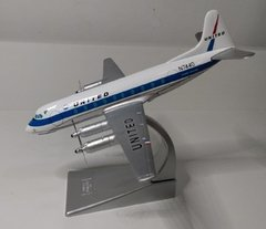 VICKERS VISCOUNT 700 - United Airlines - Casa do Colecionador
