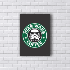 Placa STAR WARS COFFEE STORMTROOPER