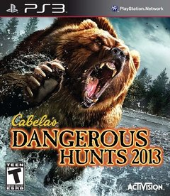 CABELAS DANGEROUS HUNTS 2013 PS3
