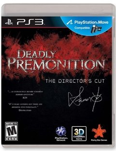 DEADLY PREMONITION THE DIRECTOR´S CUT PS3