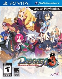 DISGAEA 3 ABSENCE OF DETENTION PS VITA