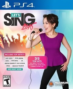 LET'S SING 2016 PS4
