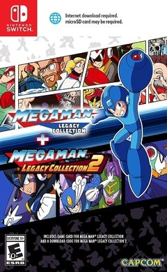 MEGAMAN LEGACY COLLECTION 1+2 NINTENDO SWITCH