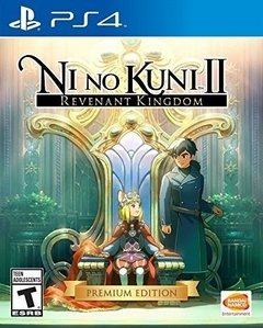 NI NO KUNI 2 REVENANT KINGDOM PREMIUM EDITION PS4