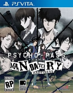 PSYCHO-PASS MANDATORY HAPPINESS PS VITA