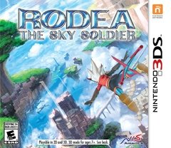 RODEA THE SKY SOLDIER LAUNCH EDITION 3DS
