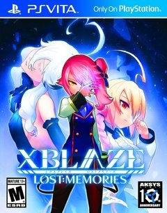 XBLAZE LOST MEMORIES PS VITA