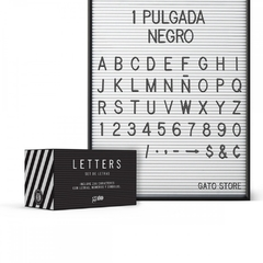 SET DE  LETRAS LETTER BOARD en internet