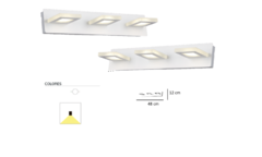 Aplique Elah Led Triple Direccional Decorativo - comprar online