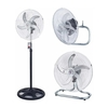 Ventilador Suzika 18 De Pie Turbo Y Pared 5 Paletas 105W