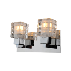 Aplique Alethia Led 2 x E27 Cromado Decorativo
