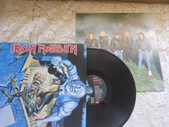 Vinil Iron Maiden No Prayer For The Dying Lp Brasil Encarte na internet
