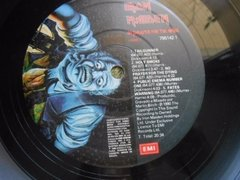 Vinil Iron Maiden No Prayer For The Dying Lp Brasil Encarte - Ventania Discos