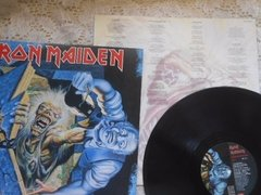 Imagem do Vinil Iron Maiden No Prayer For The Dying Lp Brasil Encarte