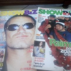 Pacote 18 Revistas Showbizz  Titãs Mamonas Kiss Raimundos ..