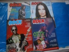 Revistas Rock Brigade Comando Metal Head Top Rock Lote C/ 15 - Ventania Discos