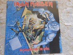 Vinil Iron Maiden No Prayer For The Dying Lp Brasil Encarte