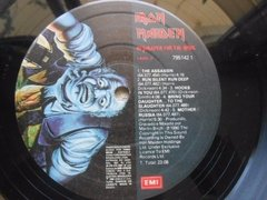 Vinil Iron Maiden No Prayer For The Dying Lp Brasil Encarte - loja online