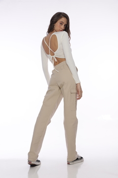 Cropped Amber - Off White - comprar online