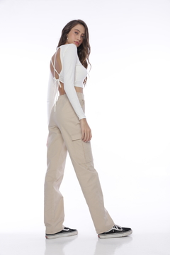 Cropped Amber - Off White na internet