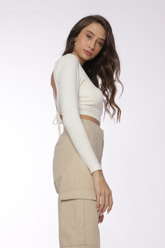 Cropped Amber - Off White - loja online
