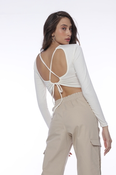 Cropped Amber - Off White