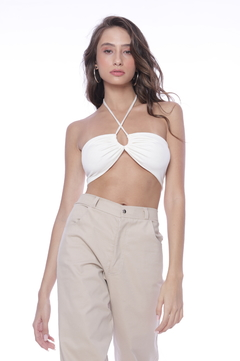 Cropped Grace - Off White - comprar online