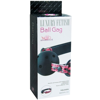 Mordaça Luxury Fetish Ball Gag Bola