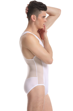 Body Enterizo Marca JQK con Transparencias