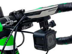 Image of GARMIN EDGE MOUNT + OPTIONAL GO-PRO MOUNT