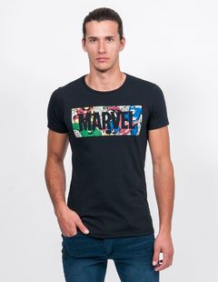 REMERA MARVEL COLORS