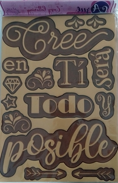 EASY LETTERING CREE