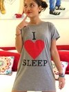 Camisón I love sleep gris