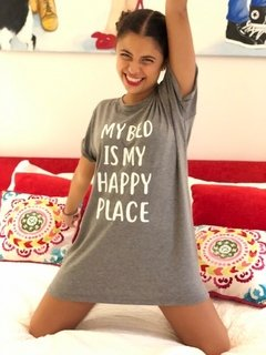 Camisón My bed is my happy place