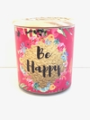 Velas de soja Be happy