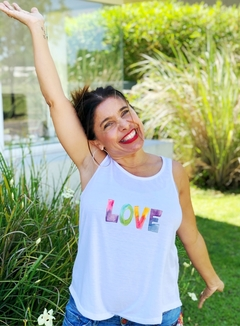 Musculosa Love acuarela (Outlet)