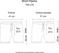 SOLO Pijama Short Follow your dream en internet
