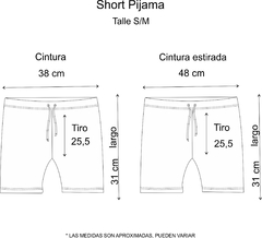 SOLO Pijama Short Follow your dream - comprar online